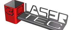 Logo 3D - Lasertec, s.r.o.